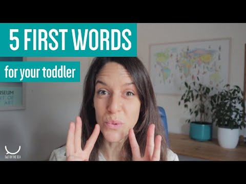 5 First Words (plus Makaton) to teach your toddler