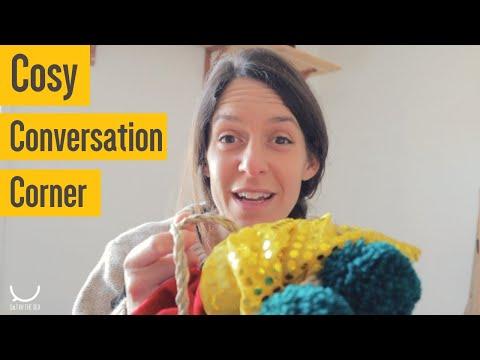 Creating a cosy conversation corner