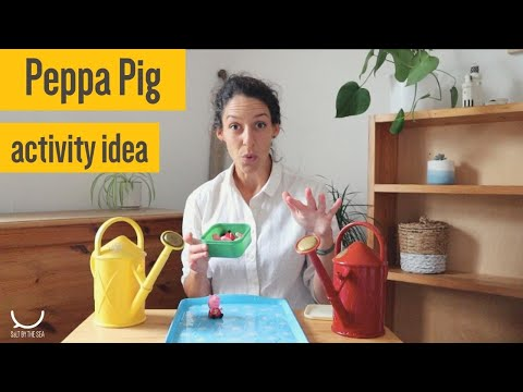 Speech and Language Therapy activity with Peppa Pig