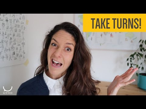 How to teach taking turns