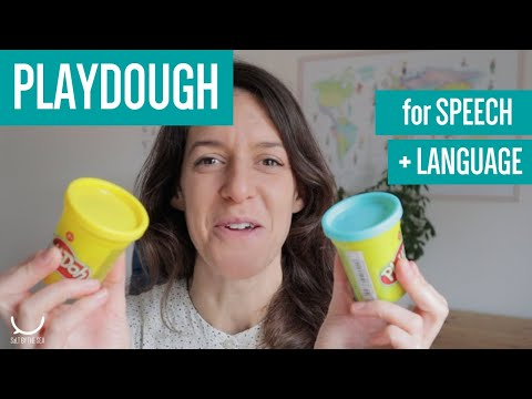 Using PLAYDOUGH for Speech and Language Therapy