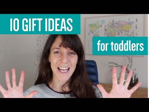 10 gift suggestions for toddlers learning to talk